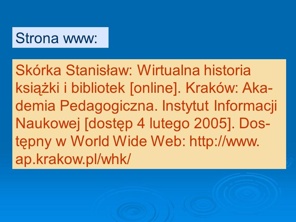 Hłasko Marek: Ósmy dzień tygodnia [on line] [dostęp 19 września 2005]. Dostęp- ny w Internecie: http://www.literatura.za pis.net.pl/okresy/wspolczesno