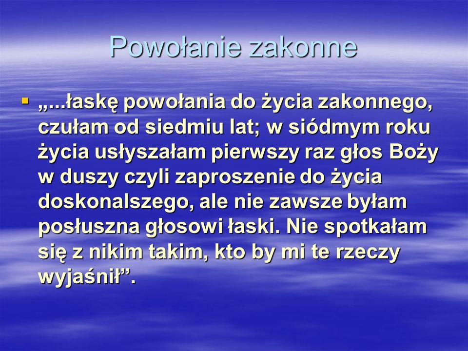 Proroctwo o Polsce Słowa Pana Jezusa skierowane do siostry Faustyny: Słowa Pana Jezusa skierowane do siostry Faustyny: Polskę szczególnie umiłowałem, Polskę szczególnie umiłowałem, a jeżeli posłuszna będzie woli mojej, wywyższę ją w potędze i świętości.