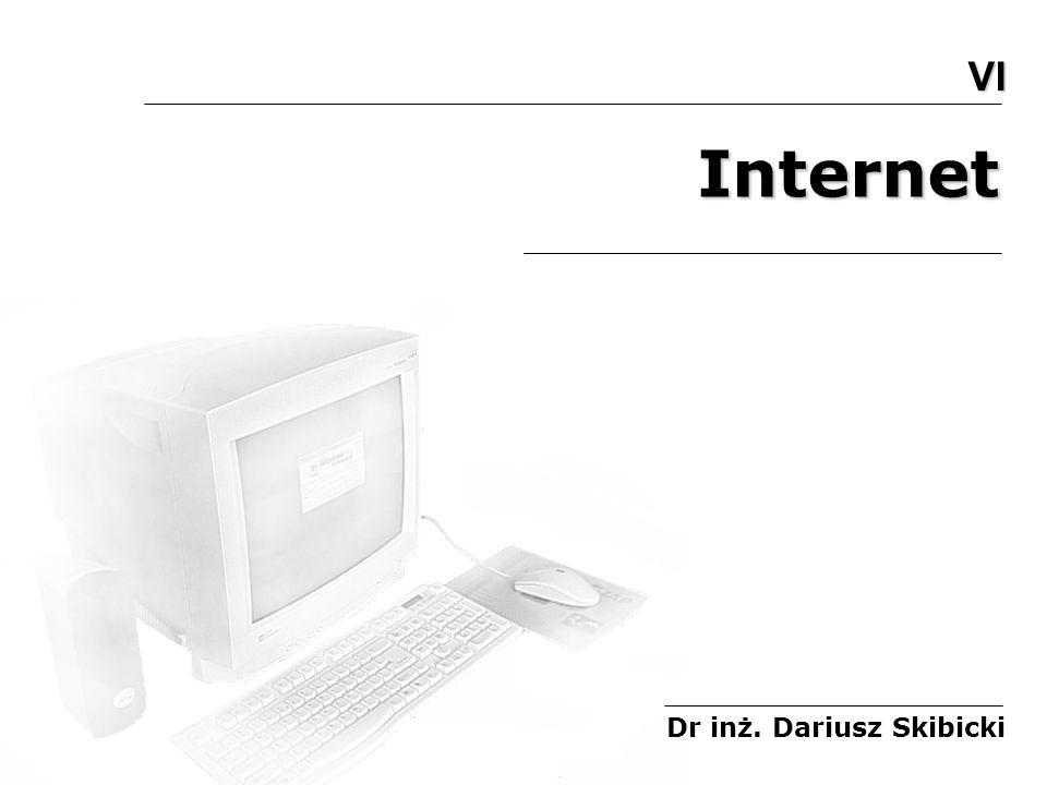 1.Co to jest Internet Internet łączy miliony komputerów na świecie Internet (inter- + ang.