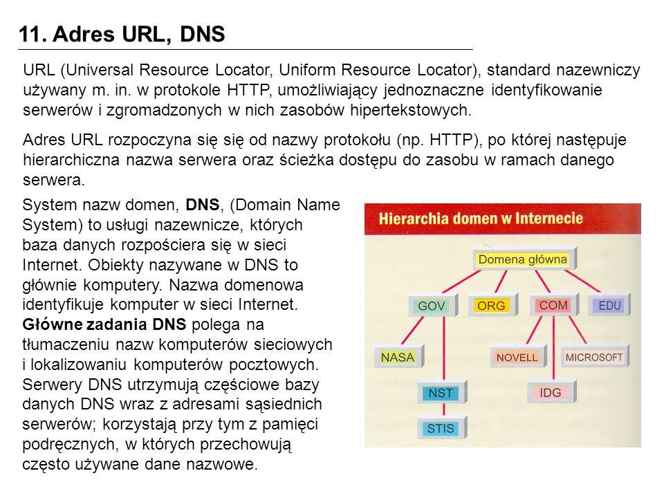 12.1.Do czego można wykorzystać internet. Strony i aplikacje WWW (np.