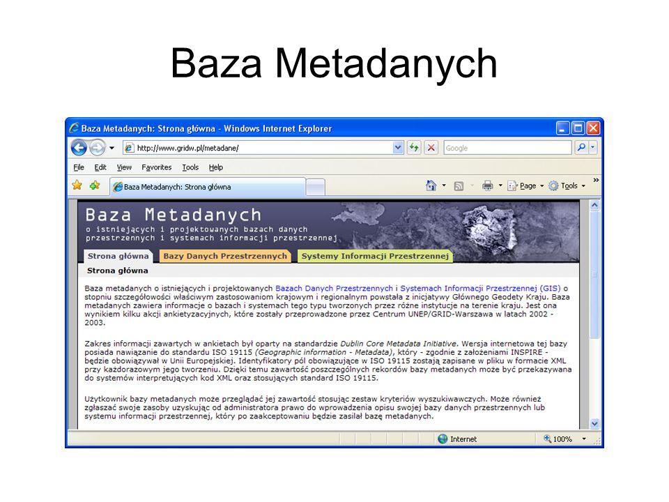 Baza Metadanych