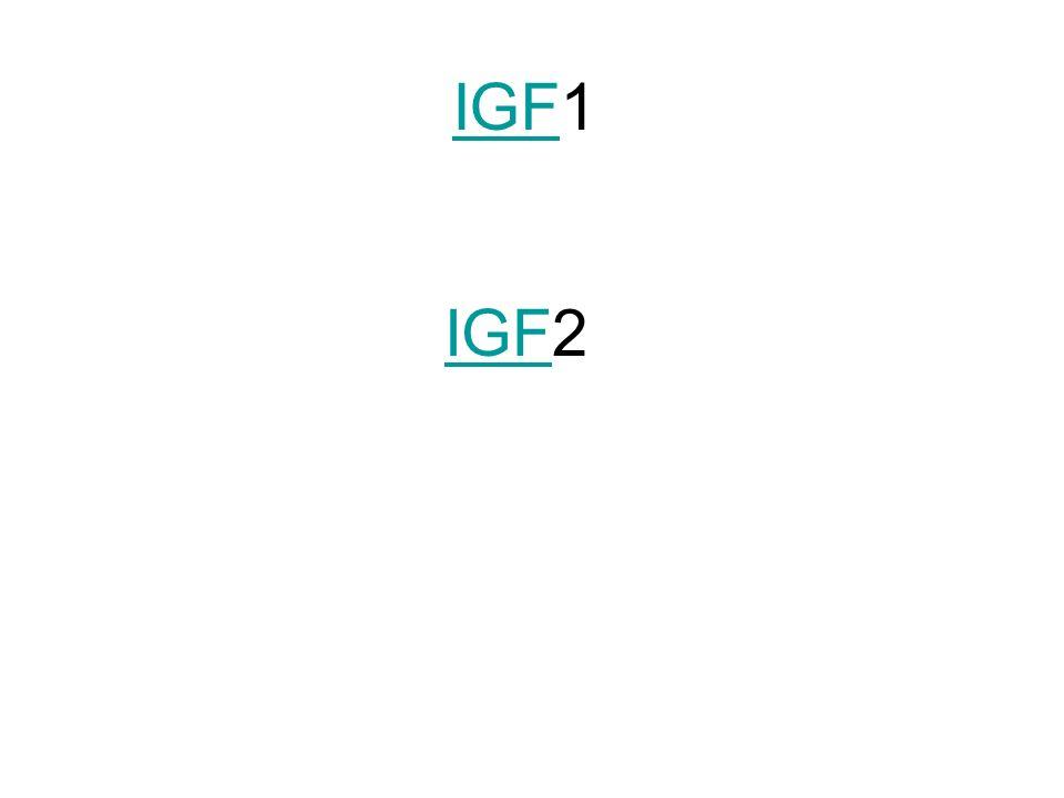 IGFIGF1 IGFIGF2