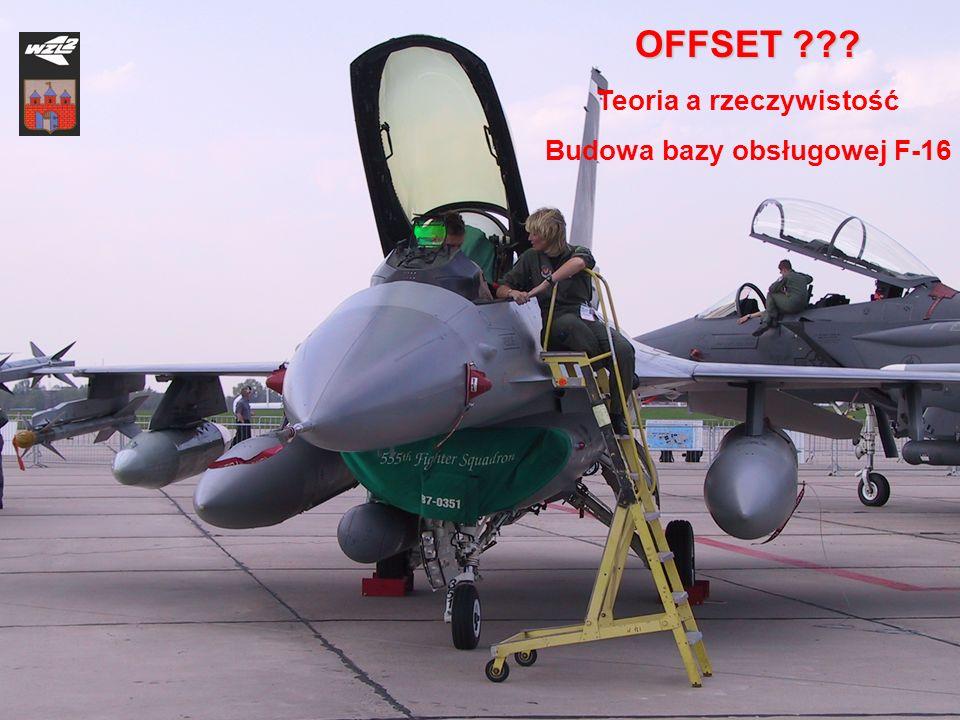 OFFSET ??? Teoria a rzeczywistość Budowa bazy obsługowej F-16