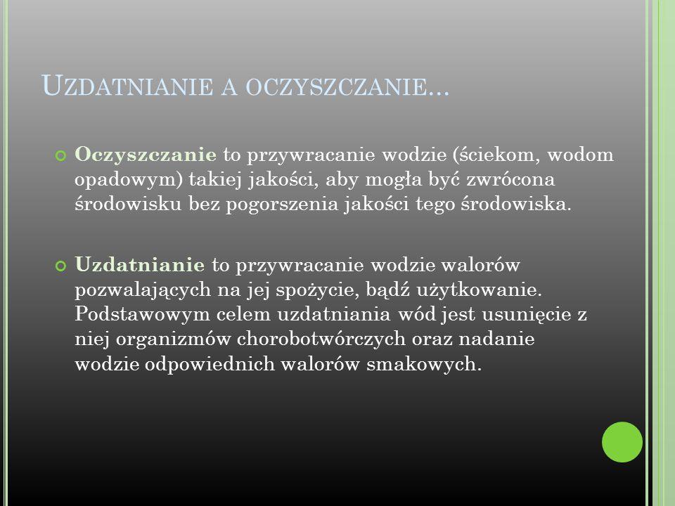 R YS. K OLUMNA DO OCZYSZCZANIA WODY METODĄ STRIPPINGU ( ODPĘDZANIA ).