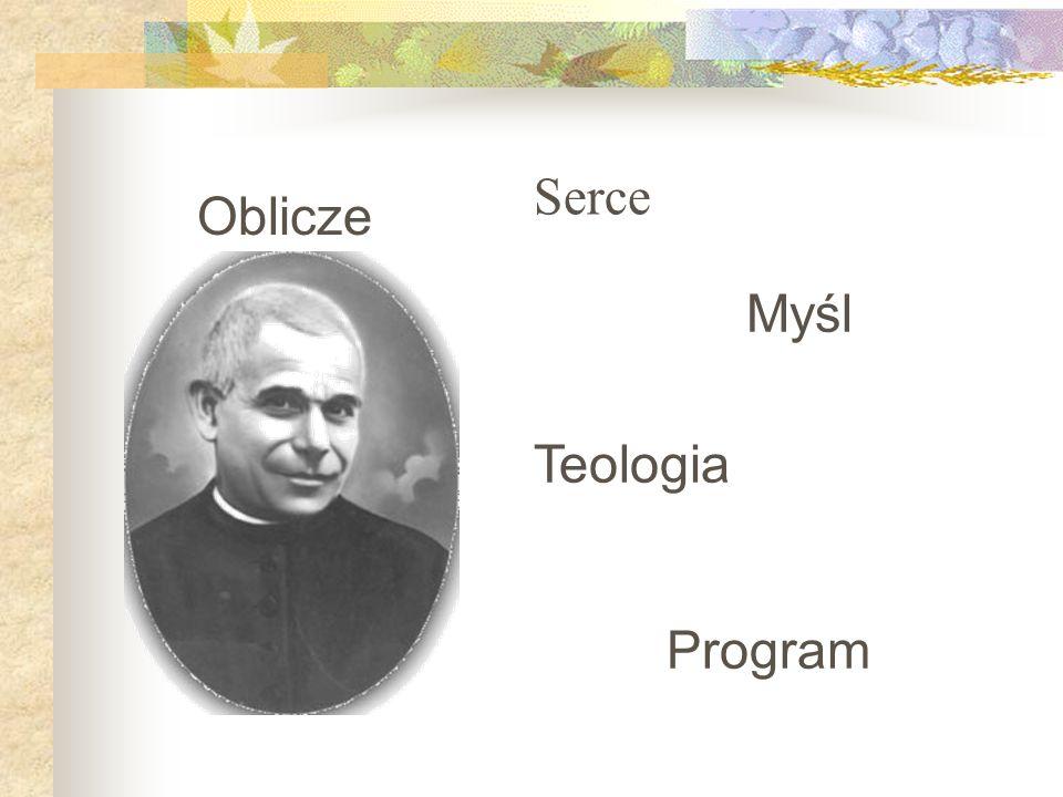 Myśl Teologia Program Serce Oblicze