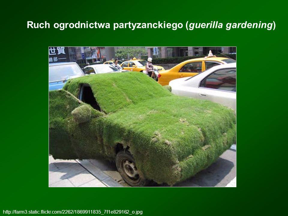 Ruch ogrodnictwa partyzanckiego (guerilla gardening) http://farm3.static.flickr.com/2262/1869911835_7f1e829162_o.jpg