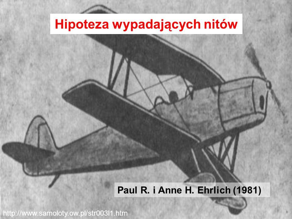 http://www.samoloty.ow.pl/str003l1.htm Hipoteza wypadających nitów Paul R. i Anne H. Ehrlich (1981)