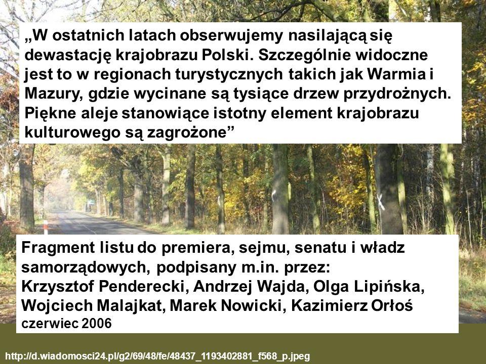 http://d.wiadomosci24.pl/g2/69/48/fe/48437_1193402881_f568_p.jpeg W ostatnich latach obserwujemy nasilającą się dewastację krajobrazu Polski. Szczegól