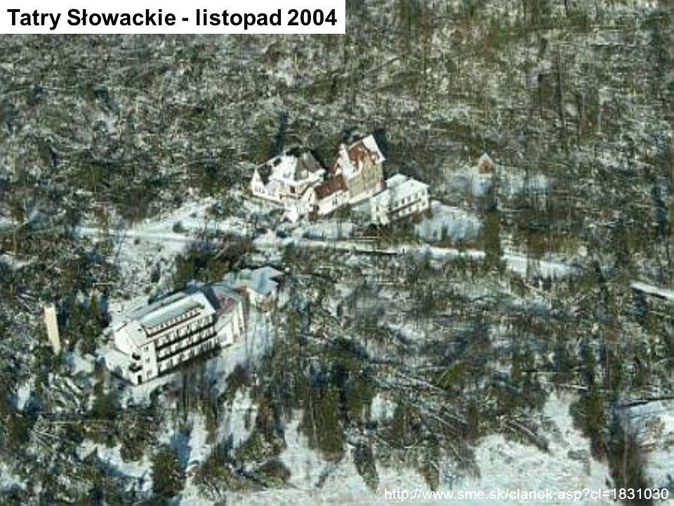 http://www.sme.sk/clanok.asp?cl=1831030 Tatry Słowackie - listopad 2004