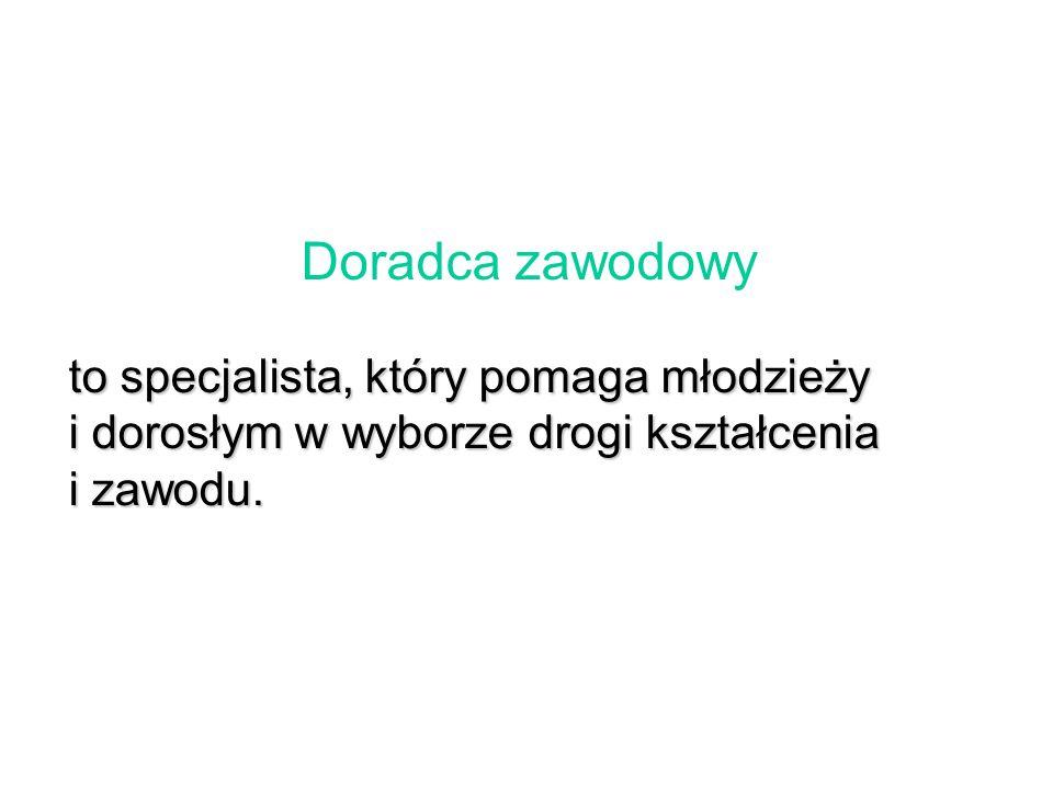 pracownik środków masowego przekazu broker informacji Mobilne Centrum Informacji Zawodowej w Warszawie