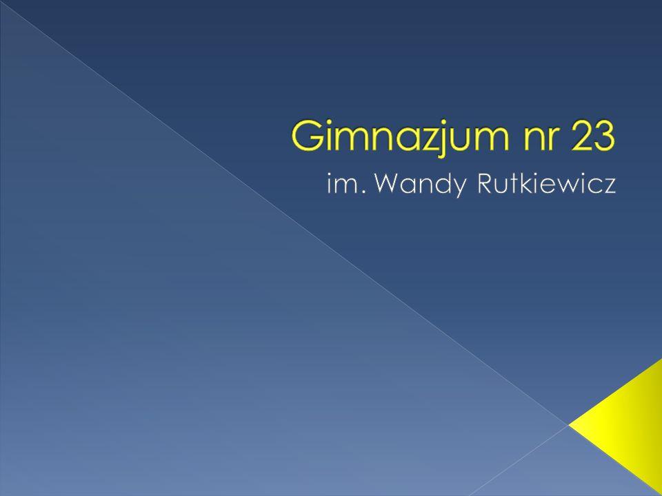 www.gimnazjum23.wroclaw.pl www.gimnazjum23.lap.pl/ sekretariat@gimnazjum23.lap.pl adres: Jastrzębia 26 53-148 Wrocław