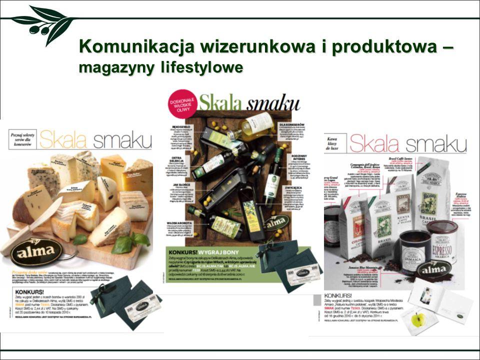 Komunikacja wizerunkowa i produktowa – magazyny lifestylowe