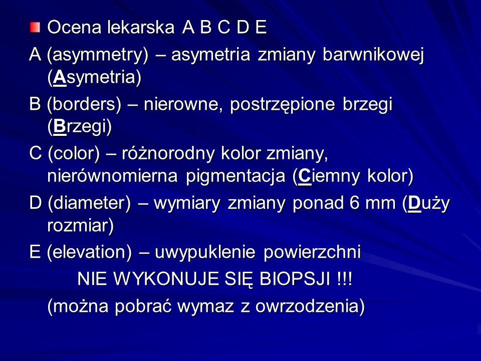 Bibliografia: Atlas histopatologii skóry L.Woźnak, I.