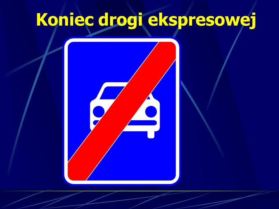 Koniec drogi ekspresowej