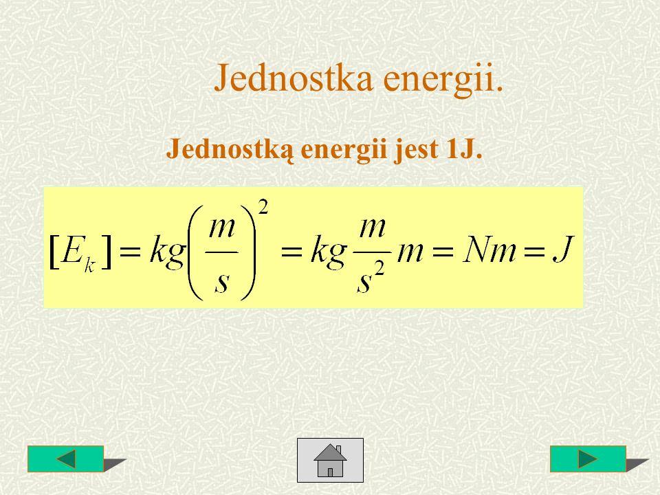 Energia potencjalna grawitacji.