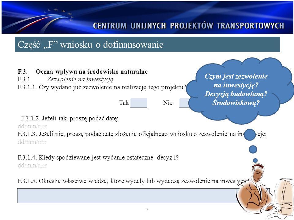 F.3.3.Stosowanie dyrektywy 2001/42/WE w sprawie strategicznej oceny środowiska[1] F.3.3.1.
