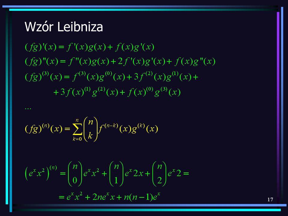 17 Wzór Leibniza