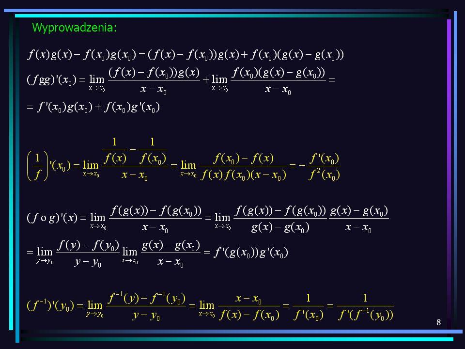 49 Całkowanie funkcji niewymiernych podstawienia Eulera