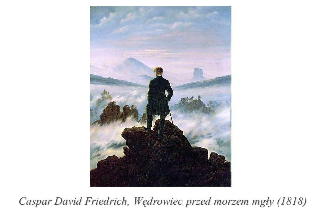 Caspar David Friedrich, Wędrowiec przed morzem mgły (1818)