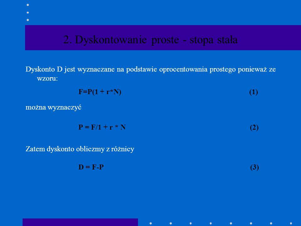 W obydwu przypadkach mamy dane P Obliczyć F