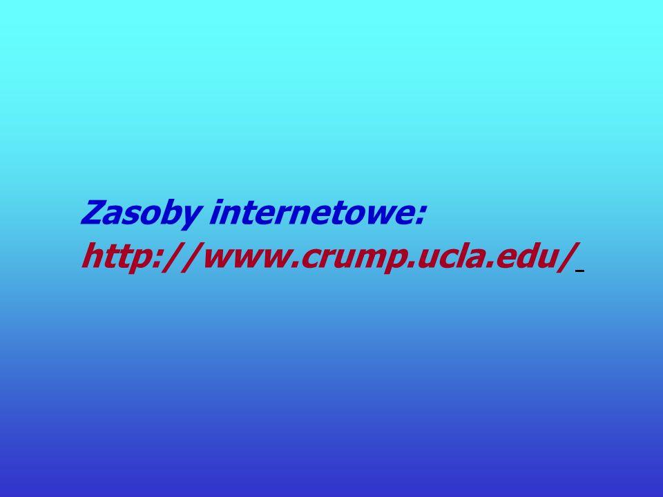 Dziękuję za uwagę http://www.crump.ucla.edu/software/ lpp/shocked/lppshocked.html