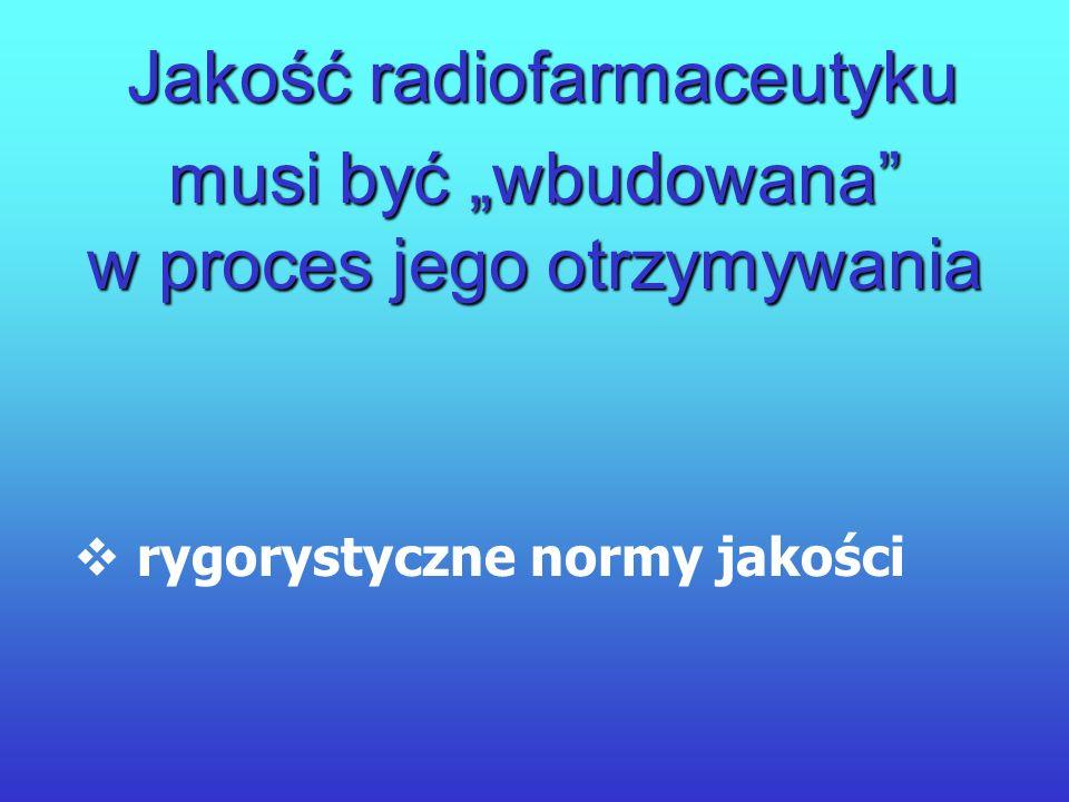 Znacznik + Związek czynny Radiofarmaceutyk rozkład znacznika w ciele pacjenta rozkład znacznika w ciele pacjenta czytelność obrazu czytelność obrazu b