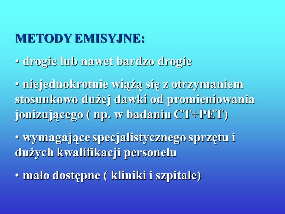 Terapia Elektrony Augera Zakres mm Emitery Auger 123,125 I, 99m Tc, 101m Rh, -5,3 MeV 0,30-0,60 MeV - 1,7 MeV - Emitery prom.