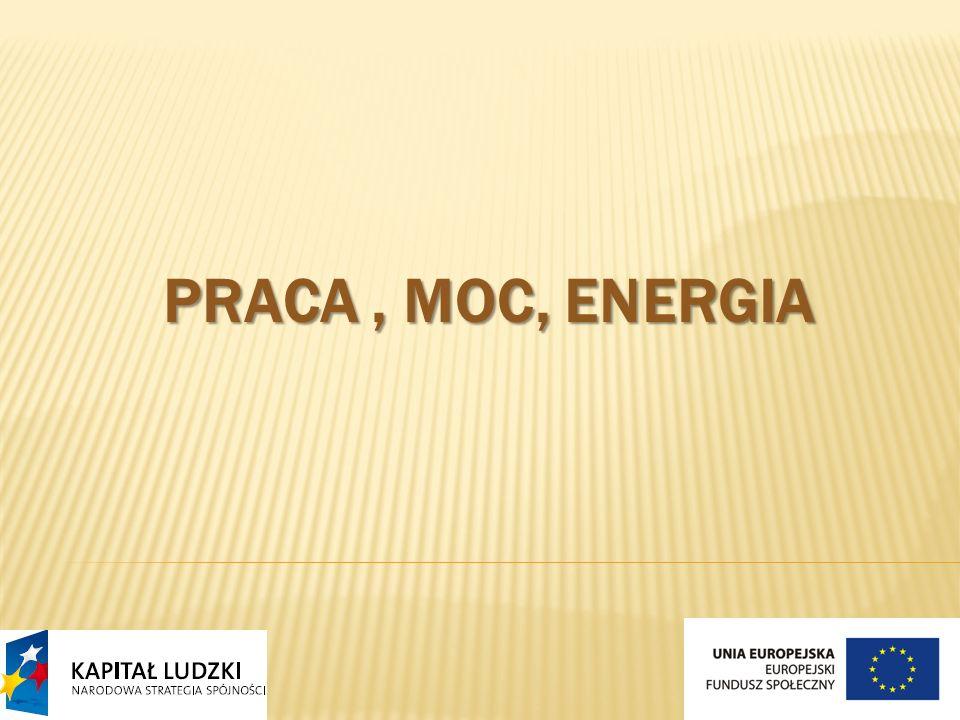 PRACA, MOC, ENERGIA
