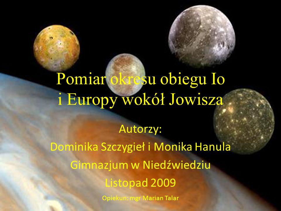 Galileusz-pierwszy, który odkrył księżyce Jowisza Urodził się w 1564r w Pizie.