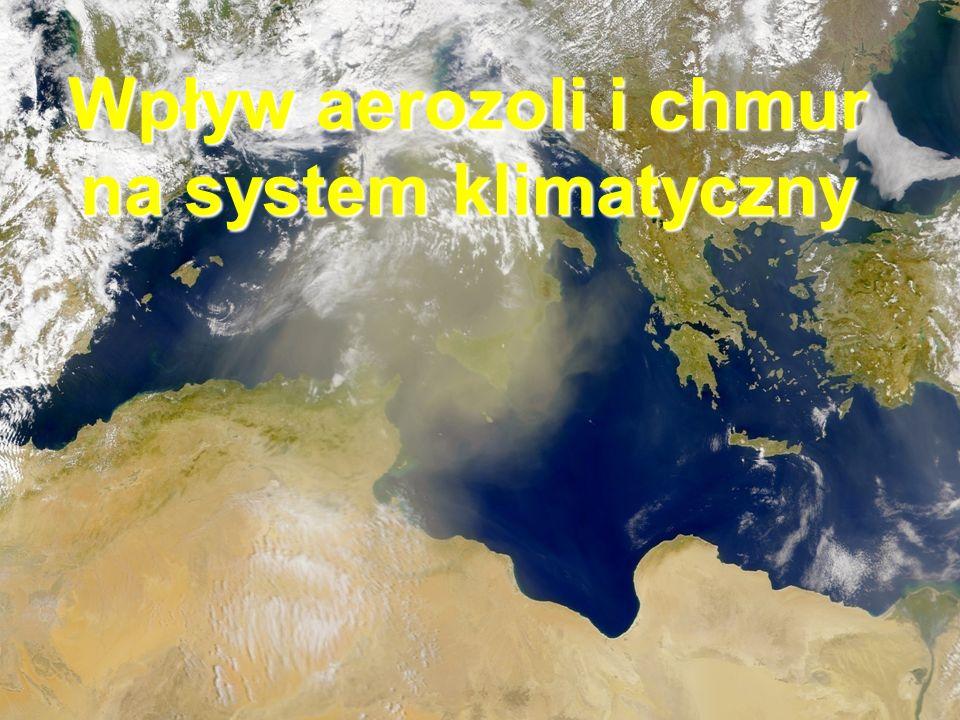 Wpływ aerozoli i chmur na system klimatyczny