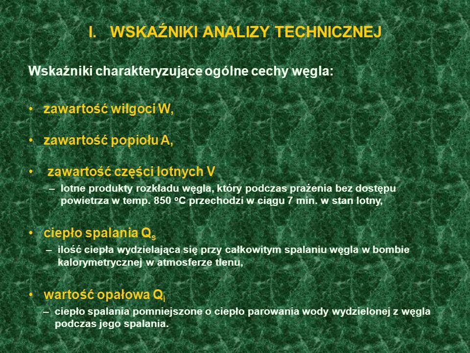 POLSKI PODZIAŁ WĘGLA KAMIENNEGO NA TYPY WG PN-82/G-97002 1) Uzupełniającym parametrem rozróżniającym węgiel typów 35.2A i 35.2B jest zawartość inertynitu, która w węglu typu 35.2A nie powinna przekraczać 30%.