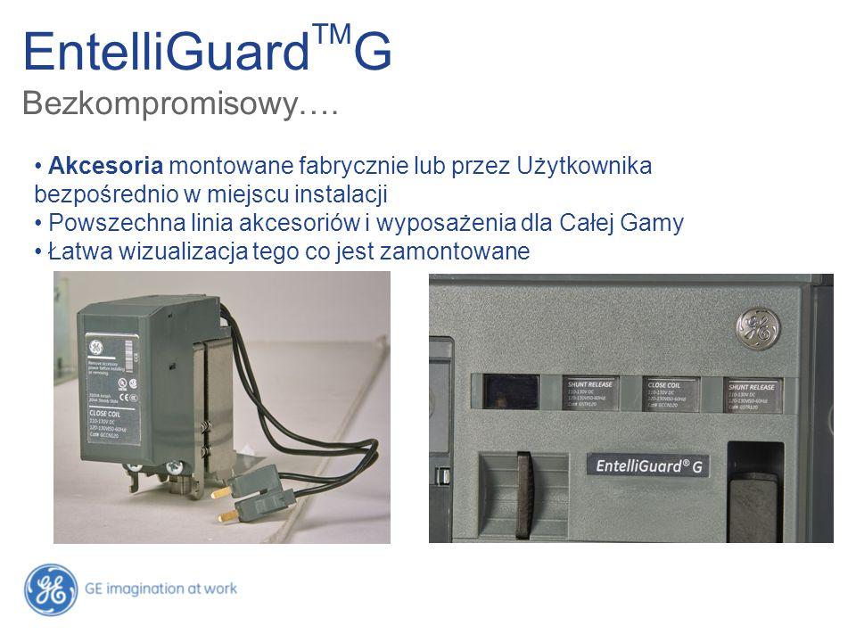 EntelliGuard TM G Bezkompromisowy…. Akcesoria montowane fabrycznie lub przez Użytkownika bezpośrednio w miejscu instalacji Powszechna linia akcesoriów