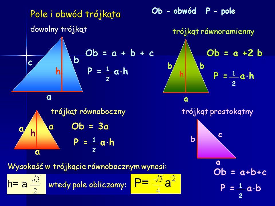 Cechy podobieństwa trójkątów Jeżeli boki jednego trójkąta są proporcjonalne do odpowiednich boków drugiego trójkąta, to trójkąty są podobne: I cecha p