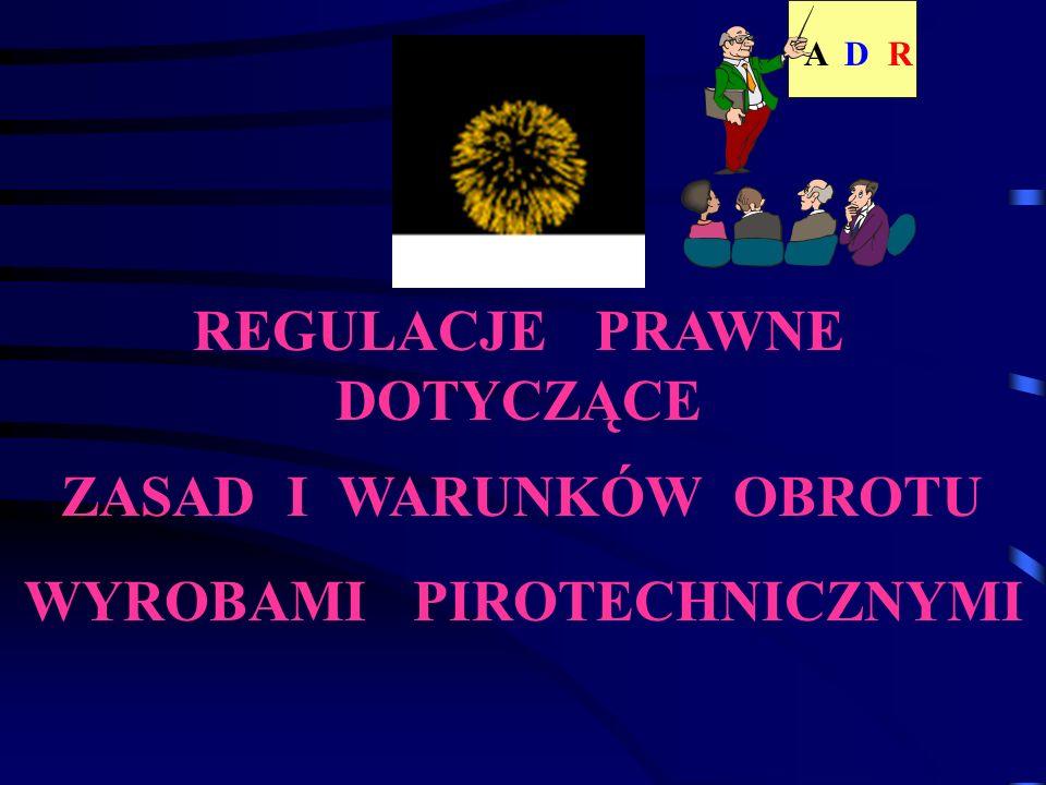 OGNIE SZTUCZNE UN 0334 1.3G nazwa przewozowa kod klasyfikacyjny numer rozpoznawczy