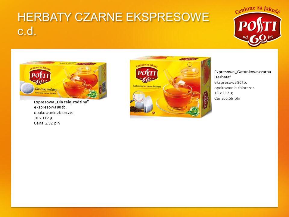 HERBATY CZARNE EKSPRESOWE AROMATYZOWANE Czarna Cytrynowa ekspresowa ekspresowa 20 tb.