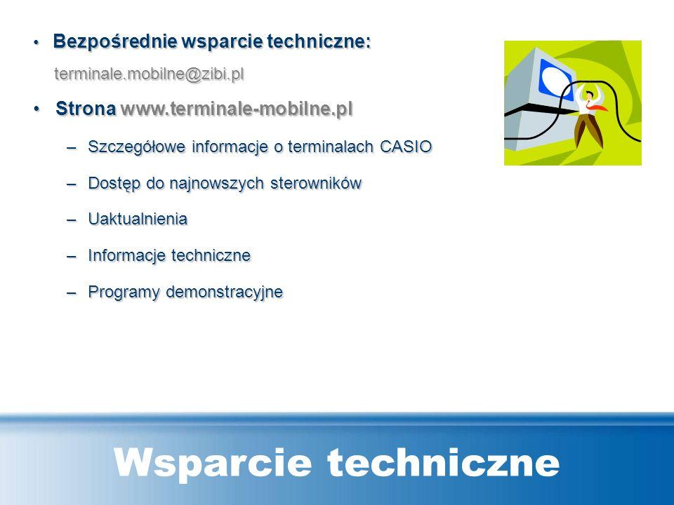 CASIO DT-X7: Specyfikacja techniczna CPU PXA270 416MHz System operacyjnyMicrosoft ® Windows ® CE 5.0 (English version) Pamięć RAM64 MB F-ROM64 MB (oko