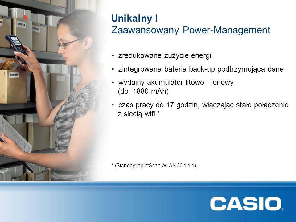 Zaawansowany Power-Management Unikalny .