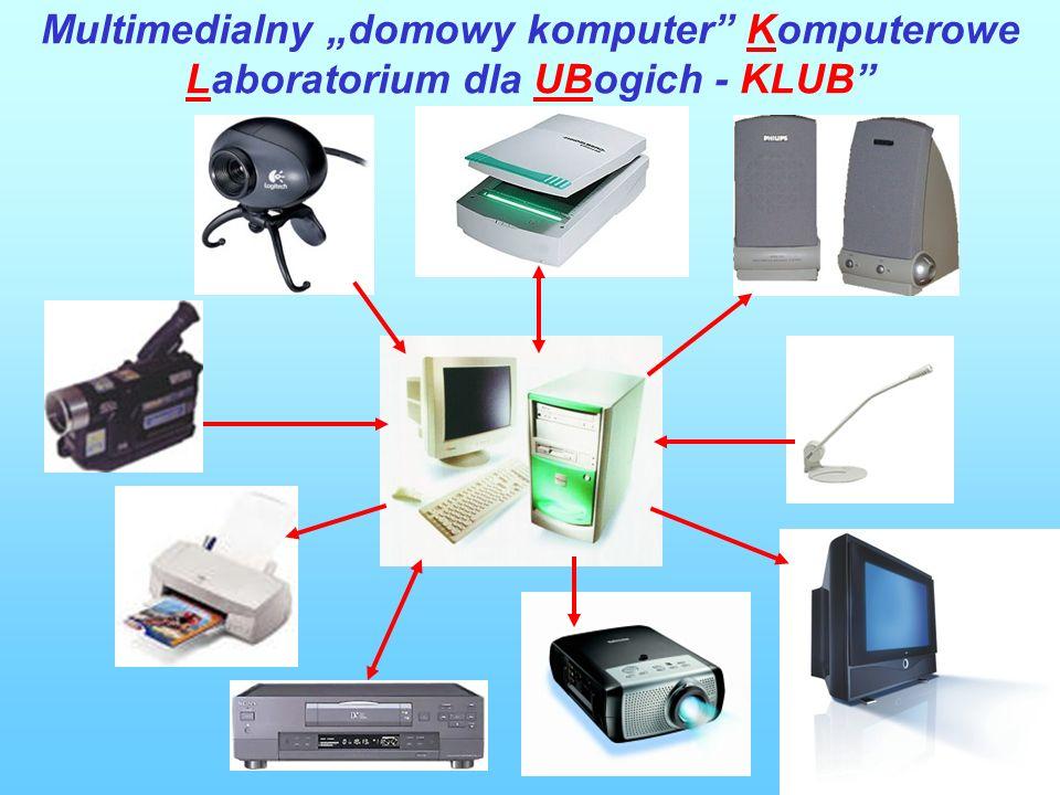 8 Multimedialny domowy komputer Komputerowe Laboratorium dla UBogich - KLUB