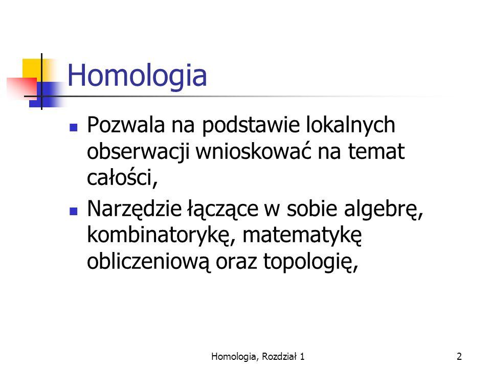 Homologia, Rozdział 113 Dodawanie modulo 2.