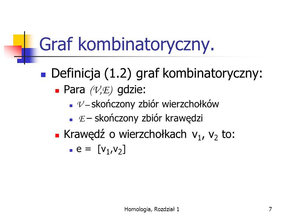 Homologia, Rozdział 118 Homologia mod 2 grafów.