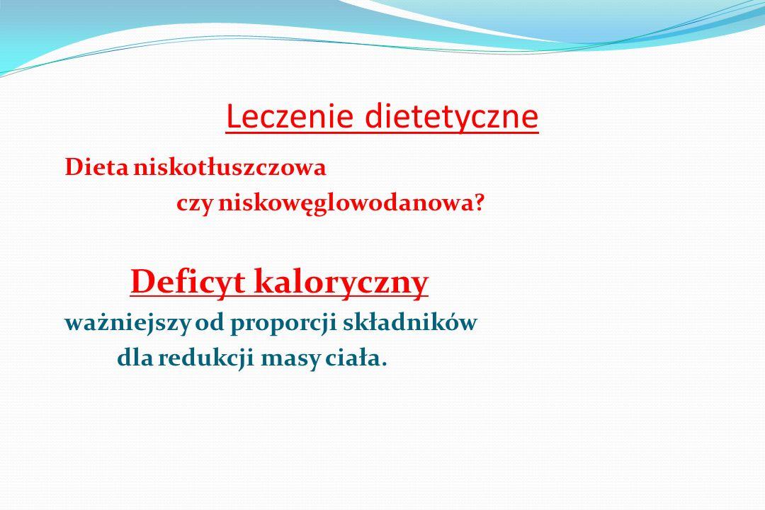 Klasyfikacja diet odchudzających Typ diety kcal / dobę Głodówka 0 - 200 VLCD bardzo nisko kal.