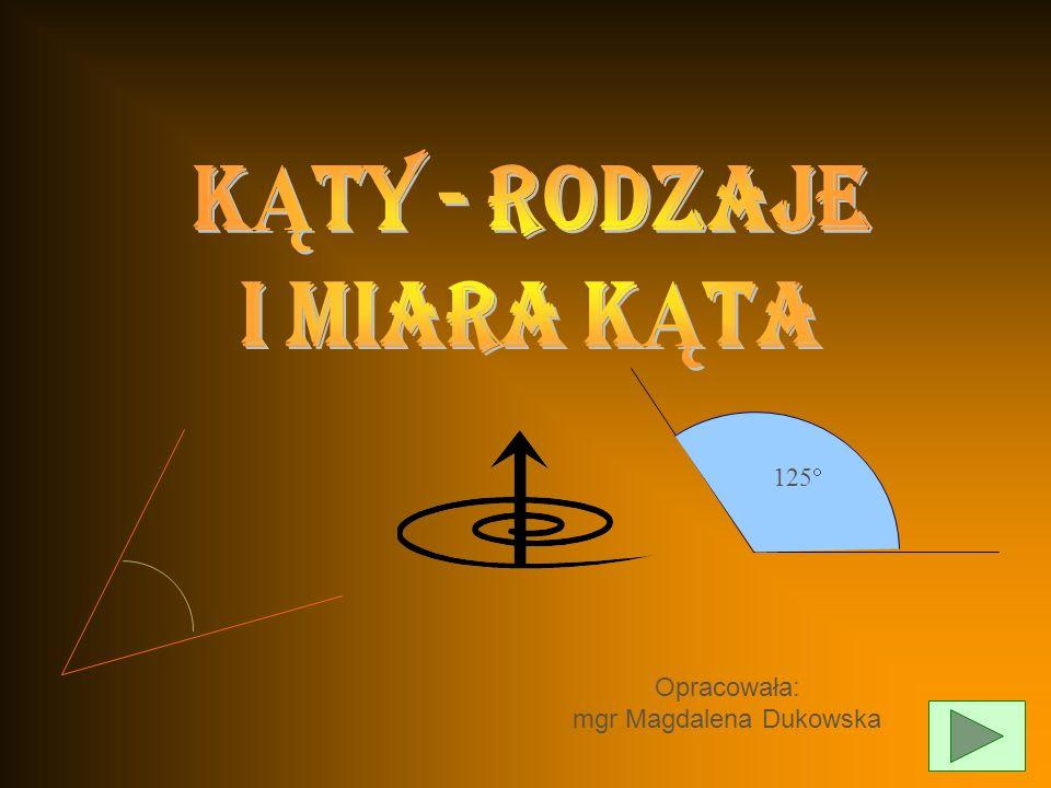 Opracowała: mgr Magdalena Dukowska 125