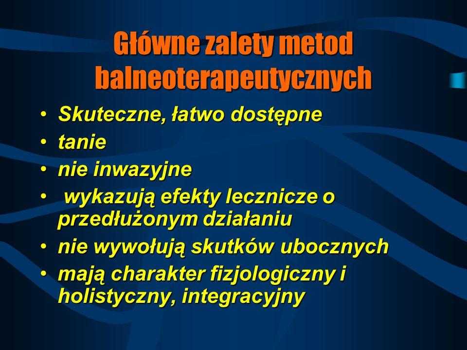 Zadania medycyny uzdrowiskowej 1. Leczenie chorób przewlekłych o charakterze komplementarnym (uzupełniające, intensyfikujące)1. Leczenie chorób przewl