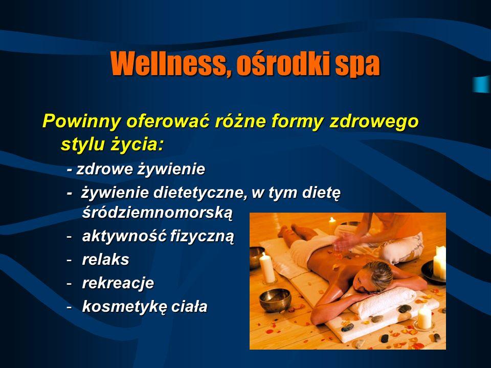 Wellness Jest to filozofia życia zmierzająca do bycia zdrowymJest to filozofia życia zmierzająca do bycia zdrowym Uwzględnia obecne trendy:Uwzględnia