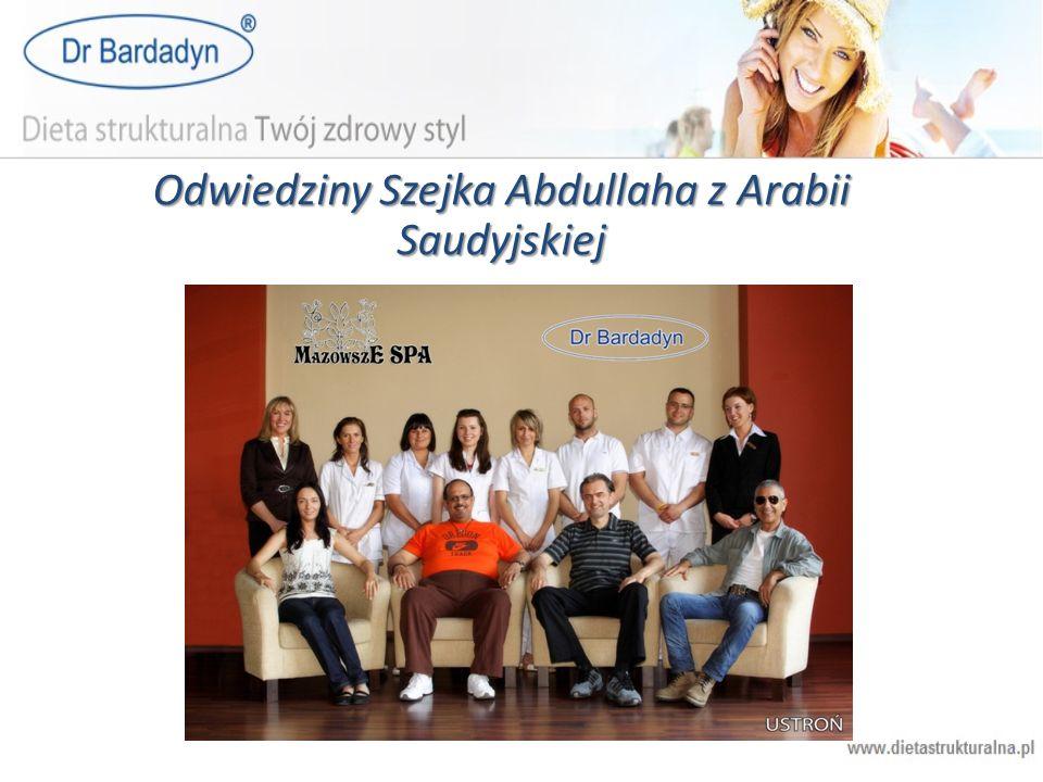 Odwiedziny Szejka Abdullaha z Arabii Saudyjskiej