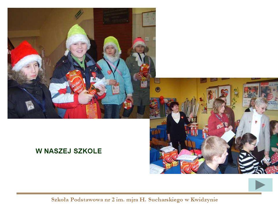 Szkoła Podstawowa nr 2 im. mjra H. Sucharskiego w Kwidzynie W NASZEJ SZKOLE