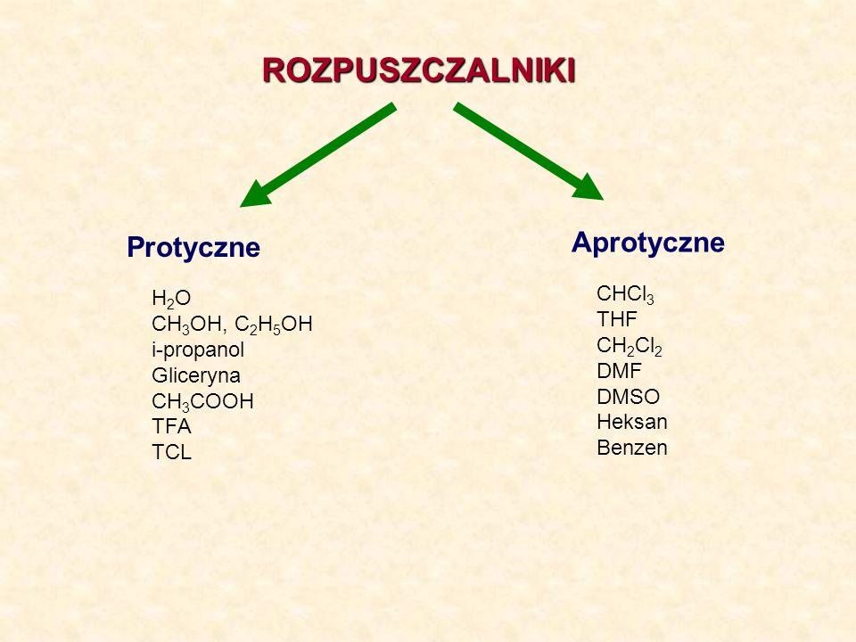 DYSOCJACJA WODY, SKALA pH H 2 O (c) + H 2 O (c) H 3 O + (aq) + OH - (aq)
