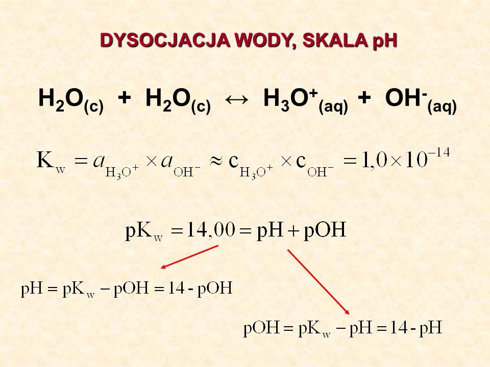 Postęp reakcji asocjacji – równanie Hilla n = 0,25 n = 0,5 n = 1 n = 2 n = 3 n = 4