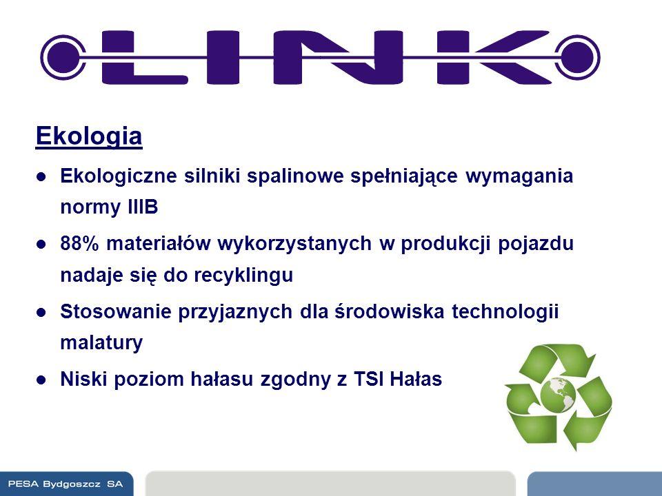 Ekologia Ekologiczne silniki spalinowe spełniające wymagania normy IIIB 88% materiałów wykorzystanych w produkcji pojazdu nadaje się do recyklingu Sto