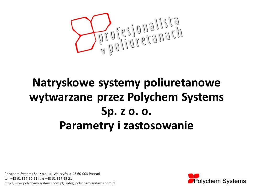 Głównymi obszarami działania naszej firmy są: - systemy poliuretanowe: - natryskowe - zalewowe - kleje poliuretanowe: - jednoskładnikowe - dwuskładnikowe - pianki montażowe - systemy izolacyjne pianki sztywnej: - płyty PU - otuliny PU - systemy pianki elastycznej